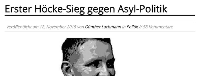 Günther Lachmann (Geolitico) 12.11.2015