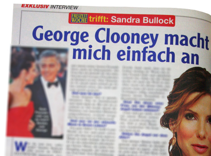 Sandra Bullock: George Clooney turnt mich einfach an
