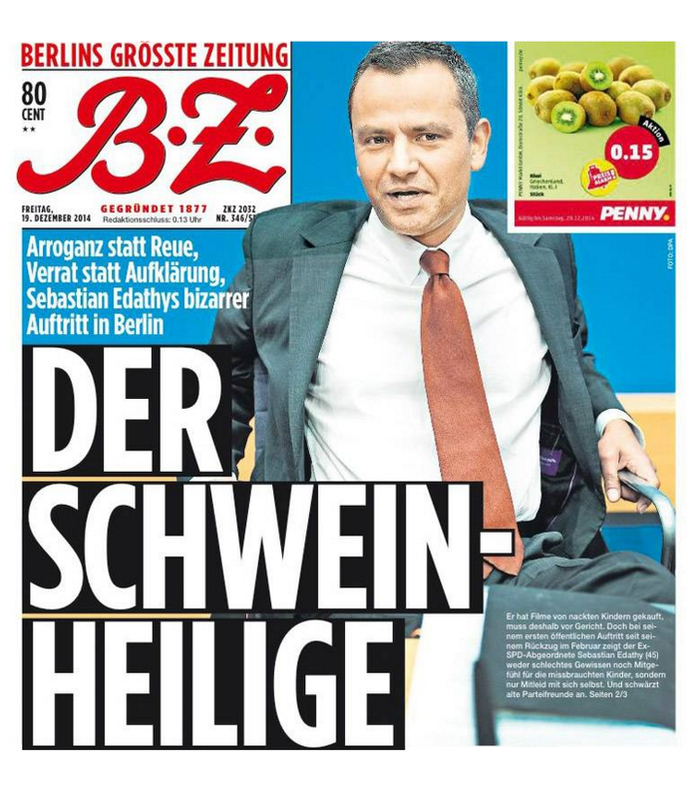 """""""B.Z."""" 19.12.2014"""