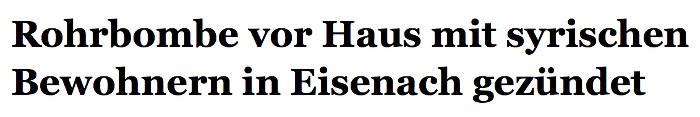 """""""Thüringer Allgemeine"""" 13.3.2016"""
