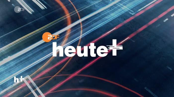 """""""heute+""""-Logo aus dem Vorspann der Sendung"""