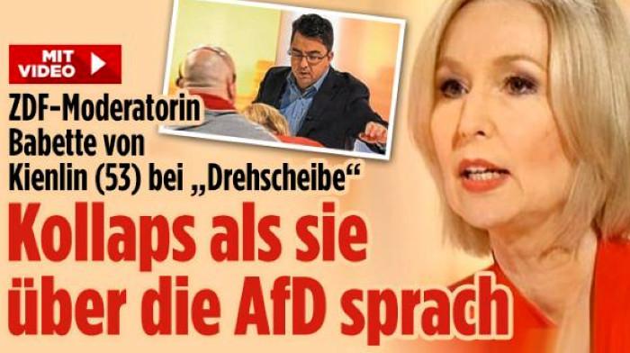 Kollabierende Schlagzeile bei Bild.de