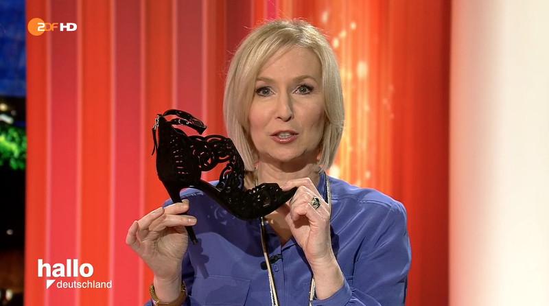 Niedriger Blutdruck, hoher Schuh: Babette von Kienlin