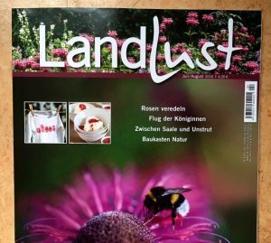 """Landlust"" Titelseite Juli/August 2016"