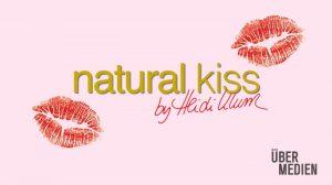 """Fiktive Werbetafel für """"Natural Kiss"""" – by Heidi Klum"""