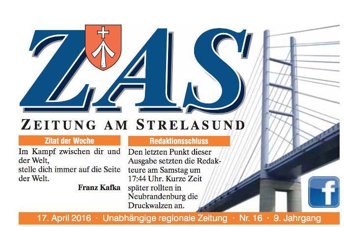 """Der Titelkopf der angeblich """"unabhängigen"""" ZAS"""