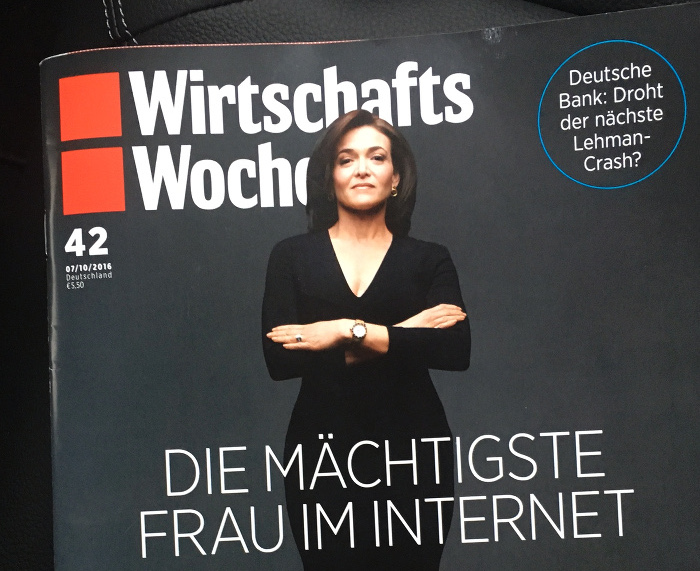 """""""Wirtschaftswoche"""" Cover Nr. 42/2016"""