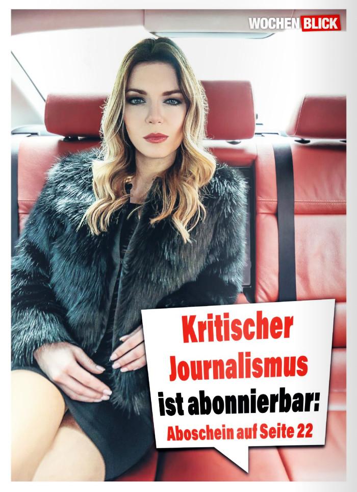 Eine kritische Journalistin – aus der Werbung