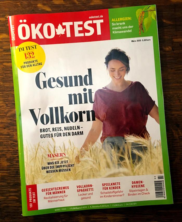 """Das Cover der Zeitschrift """"Öko-Test"""""""