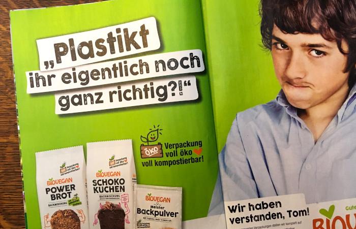 """Anzeige von Biovegan in der """"Öko-Test"""""""