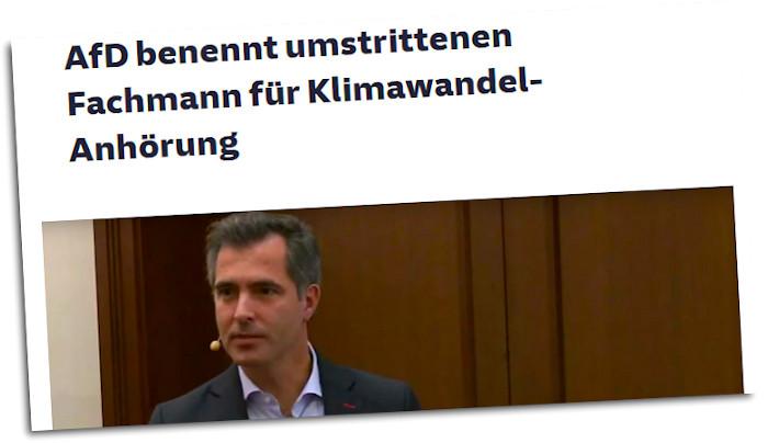 Klimaleugner-Artikel bei der Süddeutschen
