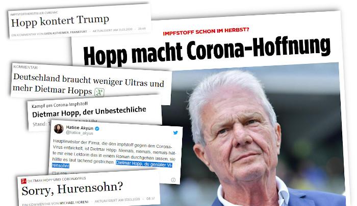 Dietmar Hopp und die Ausrisse vieler lobpreisender Artikel