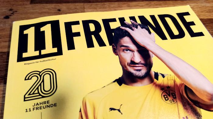 Die 11Freunde-Ausgabe zum 20. Jubiläum mit Mats Hummels auf dem Cover