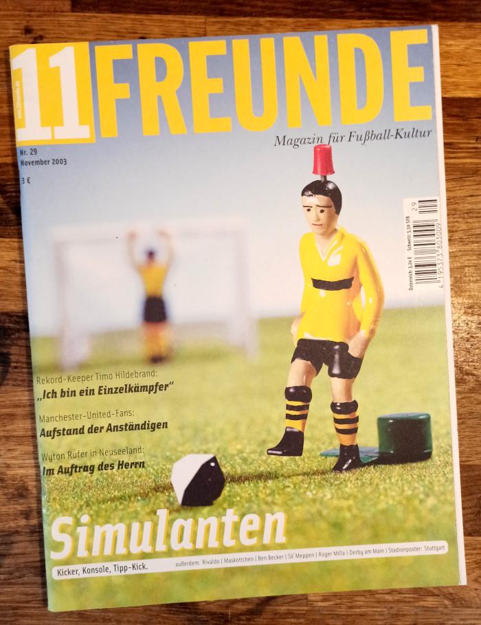 """Ausgabe Nummer 29 der """"11 Freunde"""" von November 2003"""