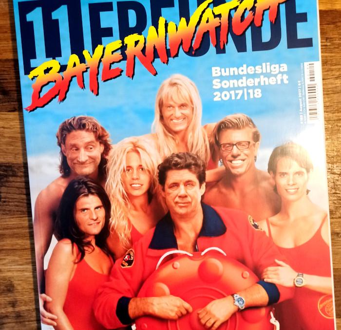 Die 11Freunde-Ausgabe zur Bundesliga-Saison 2017/2018