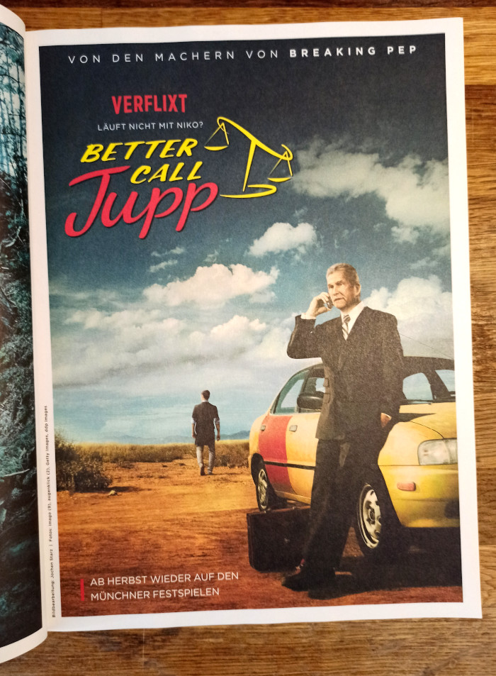Filmplakat der 11Freunde: Better Call Jupp