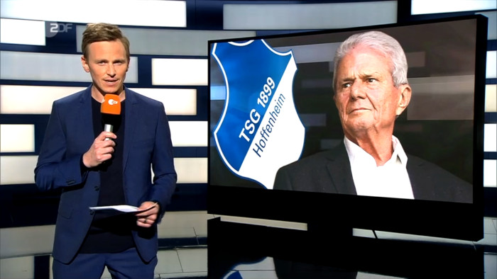ZDF-Moderator Jochen Breyer und Dietmar Hopp