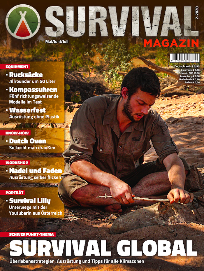 Das Cover des Survival Magazins