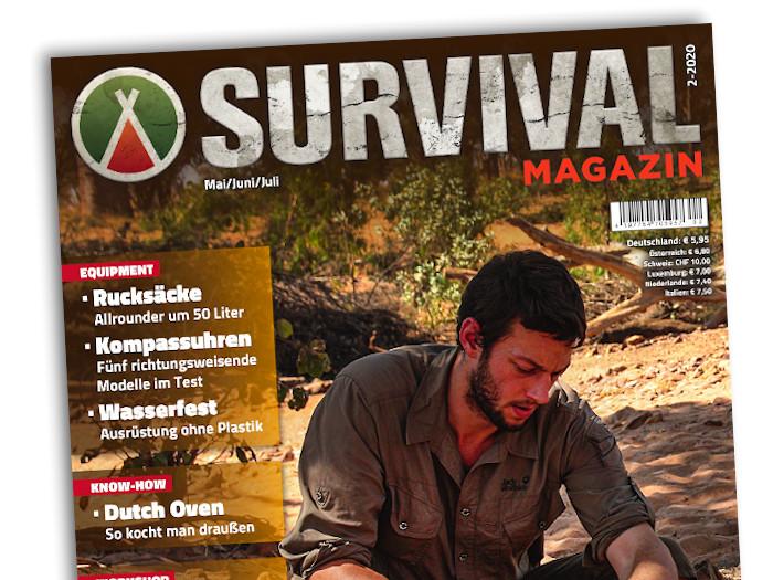 Das Cover des Survival Magazins