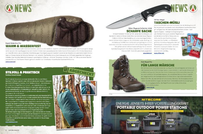 Einkaufstipps aus dem Survival Magazin