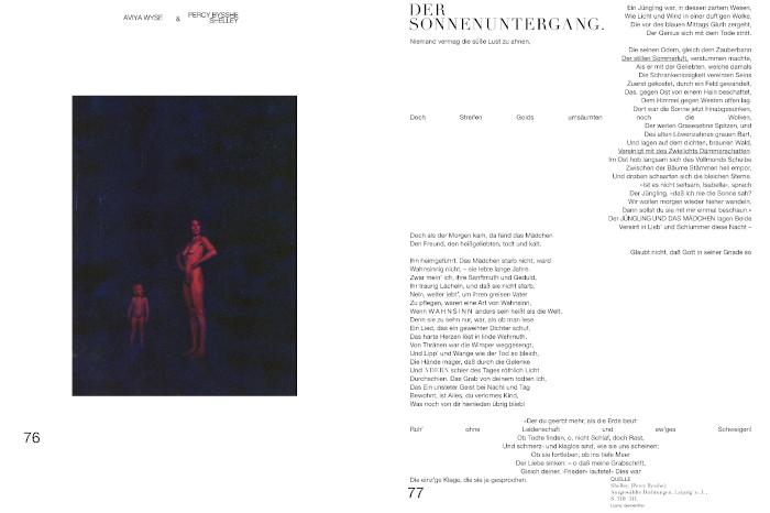 Gedichte und Fotos im Magazin Fräulein