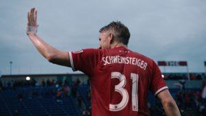 Bastian Schweinsteiger bei seinem letzten Klub Chicago Fire