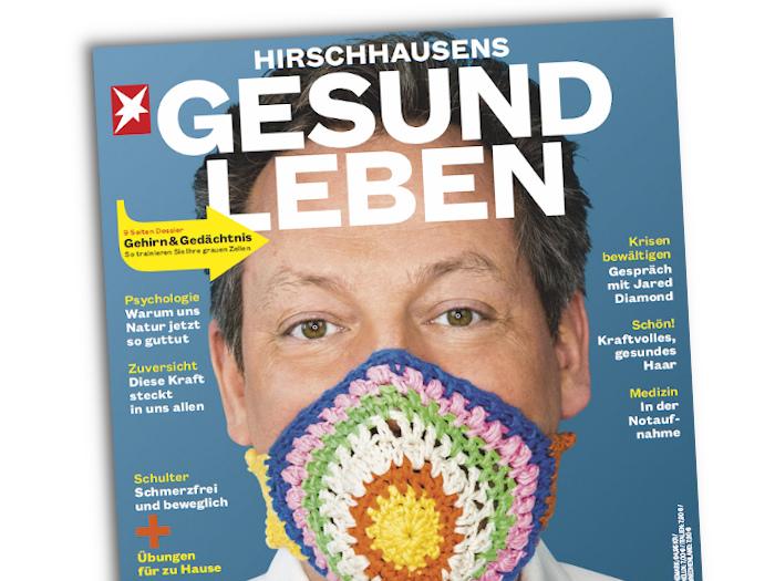 """Das Cover des Magazins """"Hirschhausens Gesund Leben"""""""