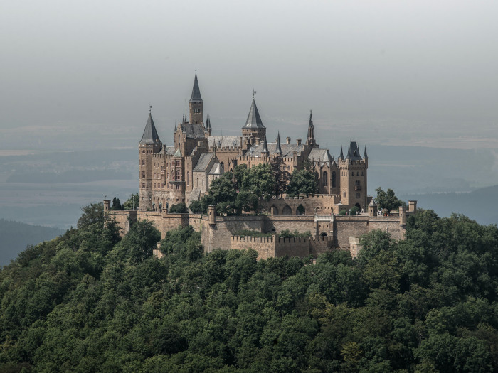 Die Hohenzollern-Burg in Baden-Württemberg