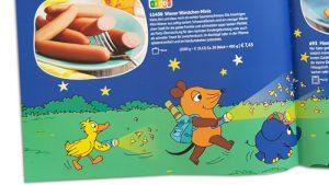 Die Maus und Würstchen im Bofrost-Katalog