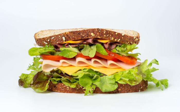 Ein Sandwich