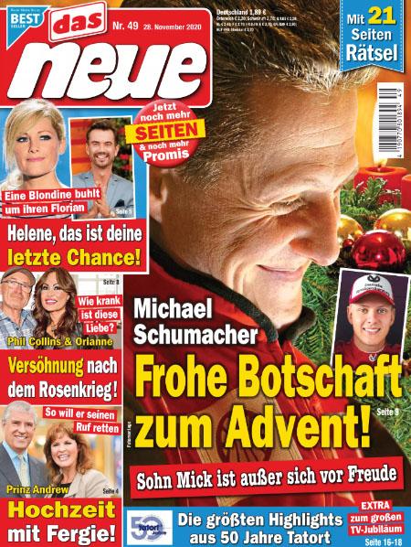 Michael Schumacher - Frohe Botschaft zum Advent! - Sohn Mick ist außer sich vor Freude