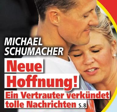 Michael Schumacher - Neue Hoffnung! - Ein Vertrauter verkündet tolle Nachrichten