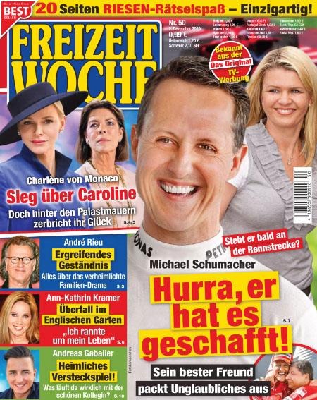 Steht er bald an der Rennstrecke? - Michael Schumacher - Hurra, er hat es geschafft! - Sein bester Freund packt Unglaubliches aus