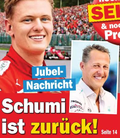 Jubel-Nachricht - Schumi ist zurück!