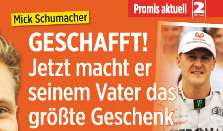 Mick Schumacher - GESCHAFFT! - Jetzt macht er seinem Vater das größte Geschenk