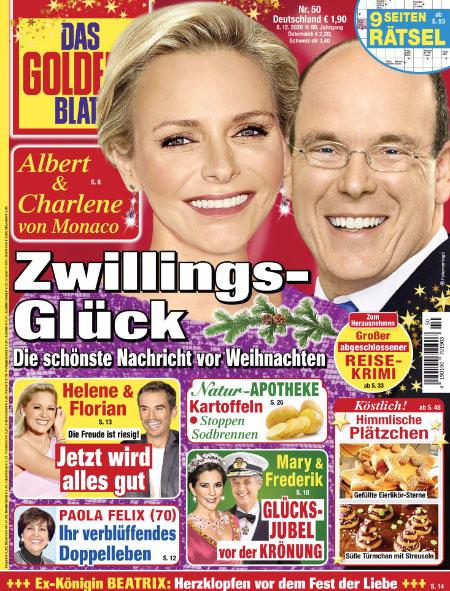 Albert & Charlene von Monaco - Zwillings-Glück - Die schönste Nachricht vor Weihnachten