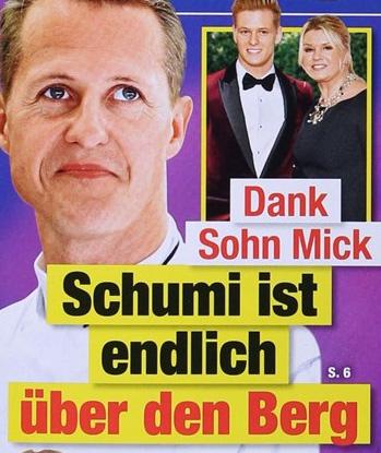 Dank Sohn Mick - Schumi ist endlich über den Berg