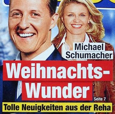Michael Schumacher - Weihnachts-Wunder - Tolle Neuigkeiten aus der Reha