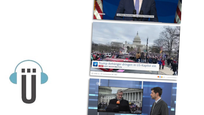 Der Podcast Holger ruft an über die Live-Berichterstattung von ARD und ZDF während der Berichterstattung aus Washington
