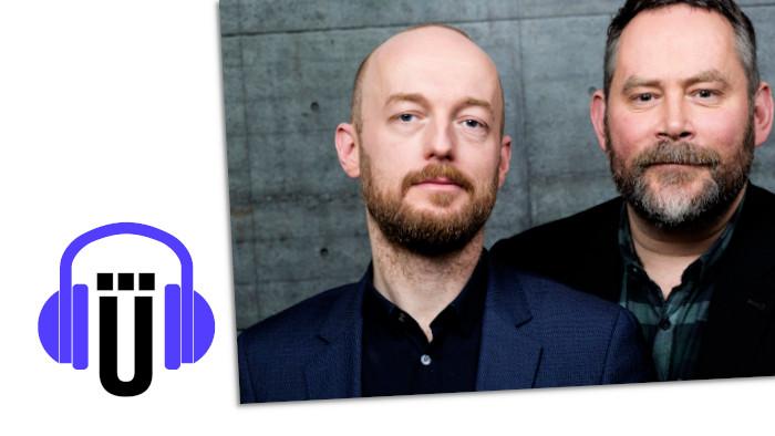 Boris Rosenkranz und Stefan Niggemeier im Podcast von Übermedien