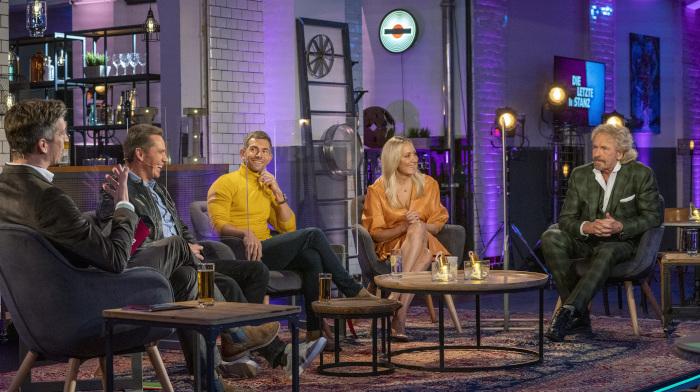 """""""Die letzte Instanz"""" mit Steffen Hallaschka und den Gästen Jürgen Milski, Micky Beisenherz, Janine Kunze und Thomas Gottschalk"""