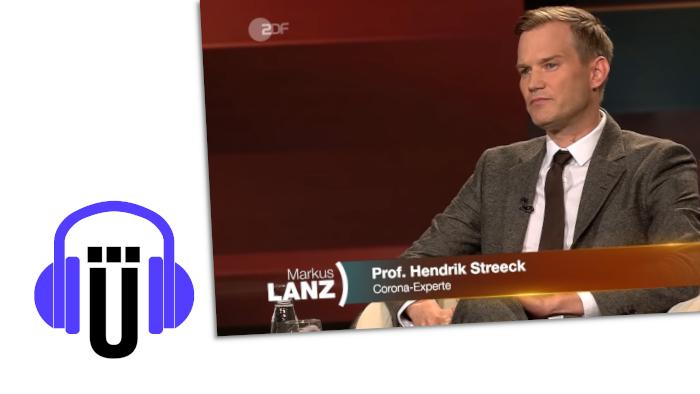 """Der Virologe Hendrik Streeck in der Sendung """"Markus Lanz"""""""