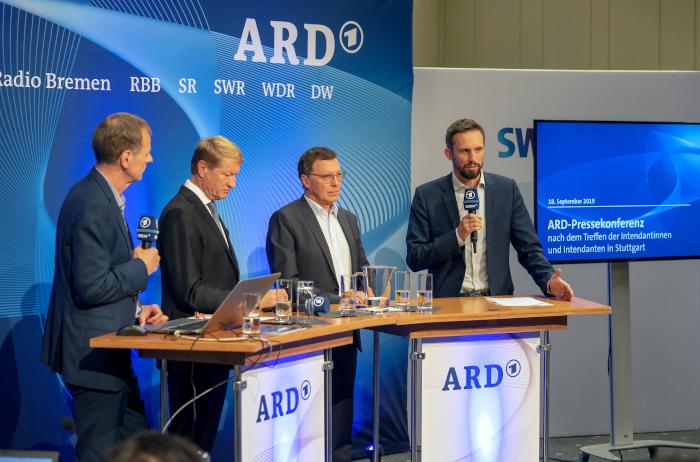 ARD-Pressekonferenz 2019 in Stuttgart