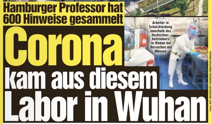 Hamburger Professor hat 600 Hinweise gesammelt / Corona kam aus diesem Labor in Wuhan