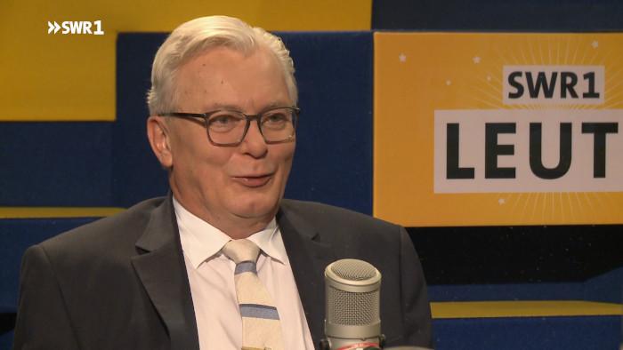 """AfD-Spitzenkandidat Bernd Gögel in der SWR1-Radiosendung """"Leute"""""""