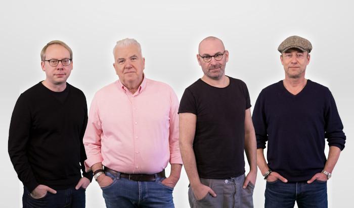"""Die Macher von """"VierNull"""": Christian Herrendorf, Hans Onkelbach, Andreas Endermann und Boris Bartels"""