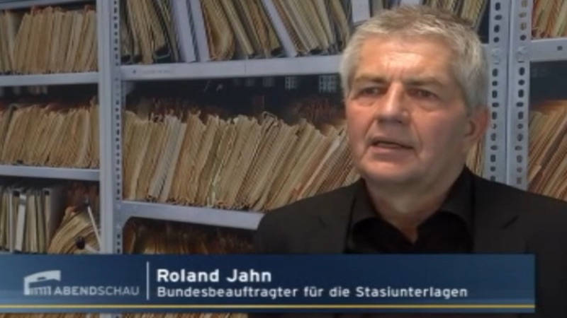 """Roland Jahn in der """"Abendschau"""""""