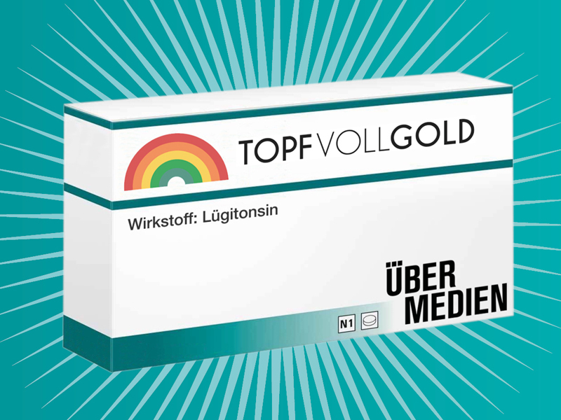 "Packung ""Topf voll Gold"" mit Wirkung Lügitonsin"