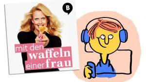 """Podcast """"Mit den Waffeln einer Frau"""" von Barbara Schöneberger"""