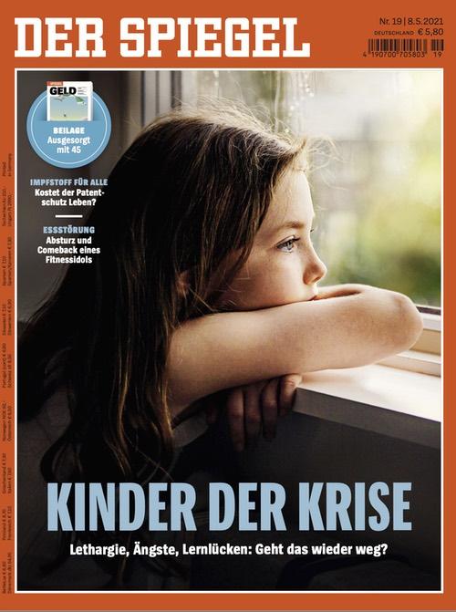 Spiegel-Cover: Kinder der Krise